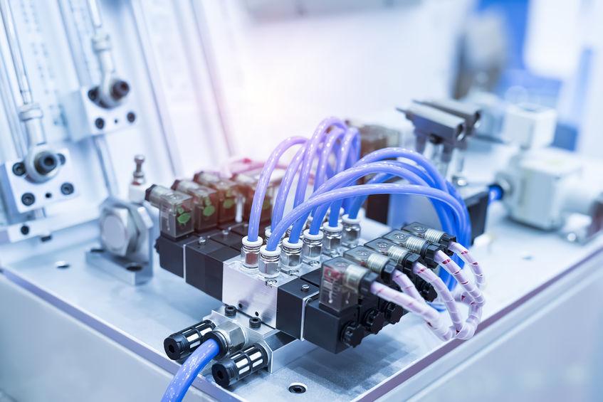 Automation, Pneumatik til robot, ventil, styring