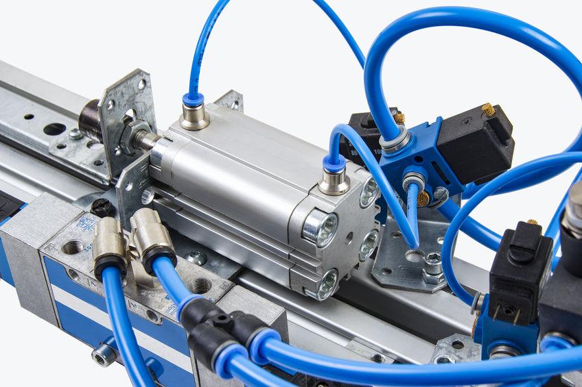 automation, plc, pneumatik, luftcylinder